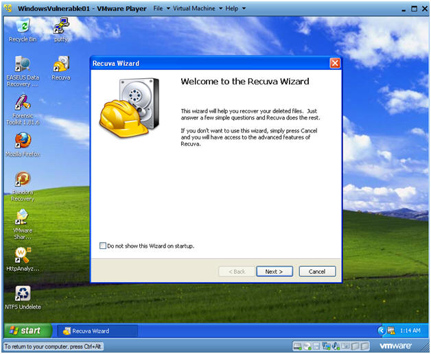 Recuva File Recovery: Lesson 2: How to retrieve files deleted from
