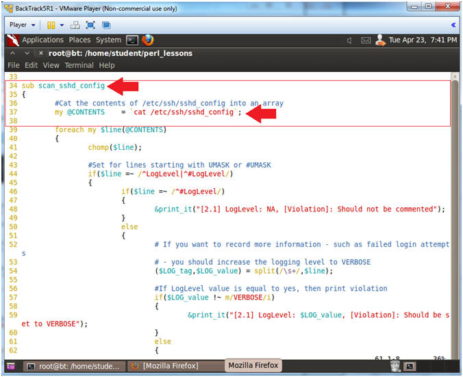perl lesson 9 policy part 2 parsing etc ssh sshd config