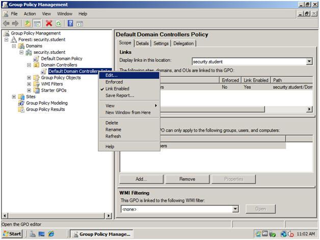 Windows 2008 Server: Lesson 8: Setting Up Audit Account Logon Events