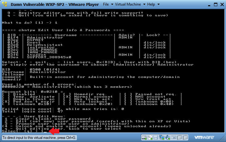windows 2000 password recovery boot cd
