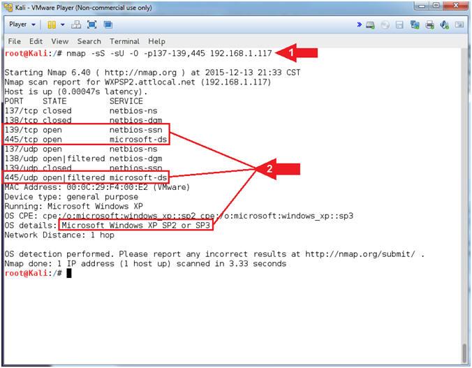 Metasploit: MS10-061: Kali 1.0: Detect NetBIOS Printer Shares, Gain