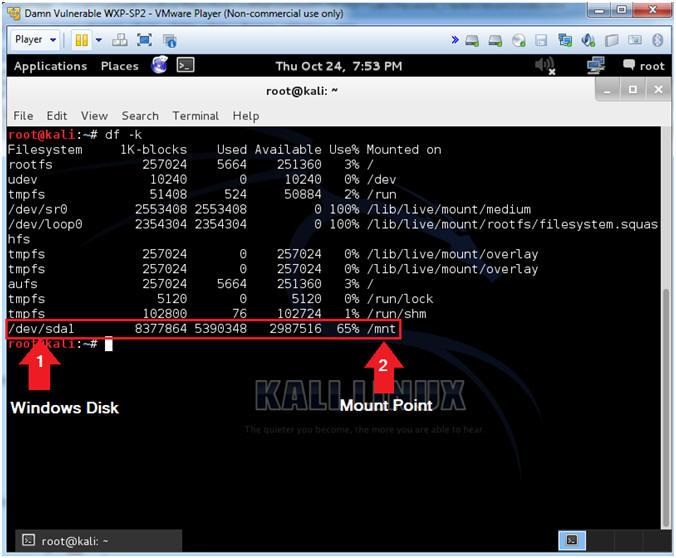 crack windows 7 password from sam file