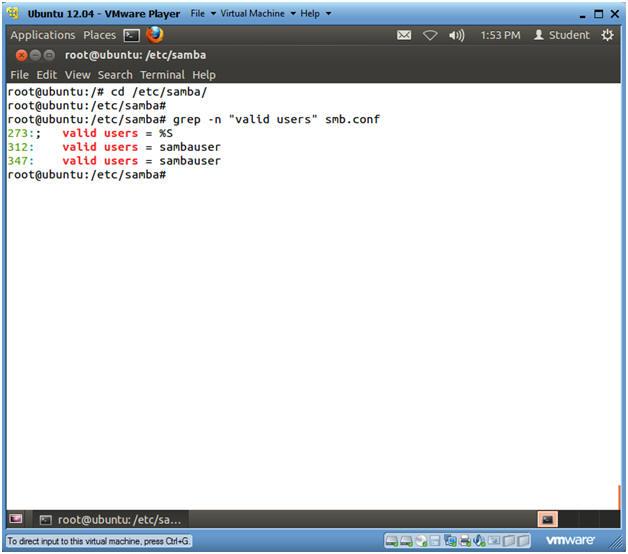 Ubuntu: Lesson 15: Installing and Configuring Samba